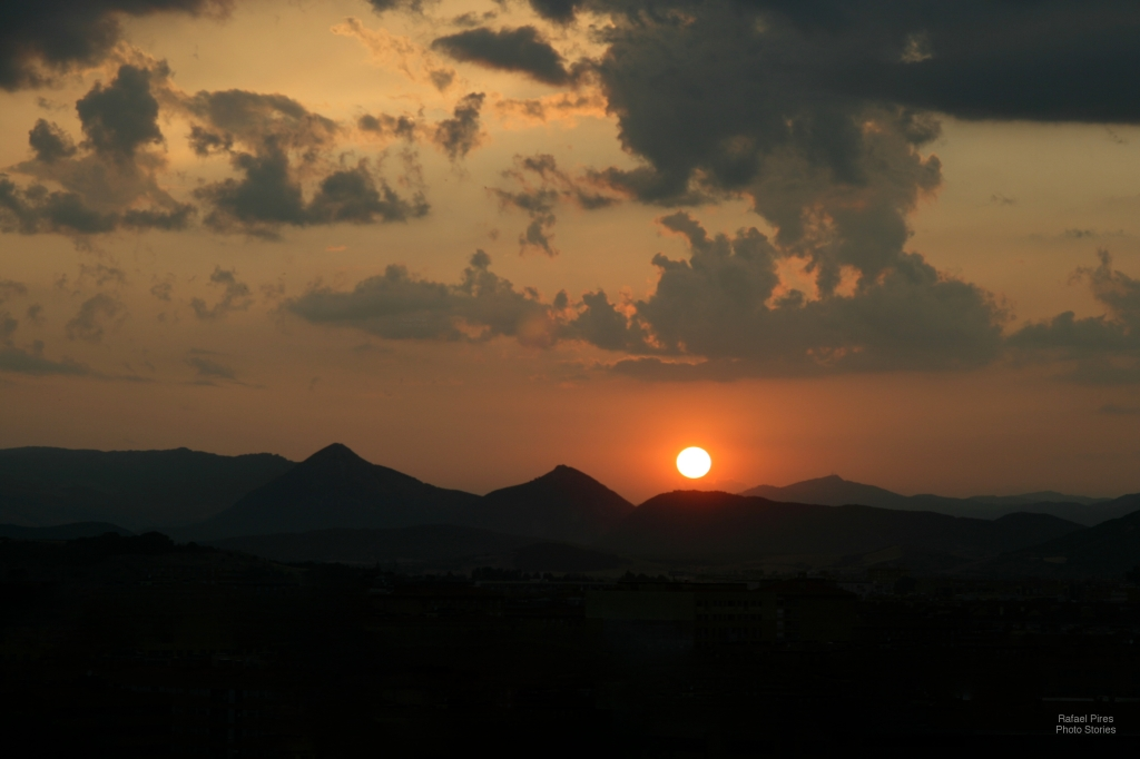 Pamplona Sunset